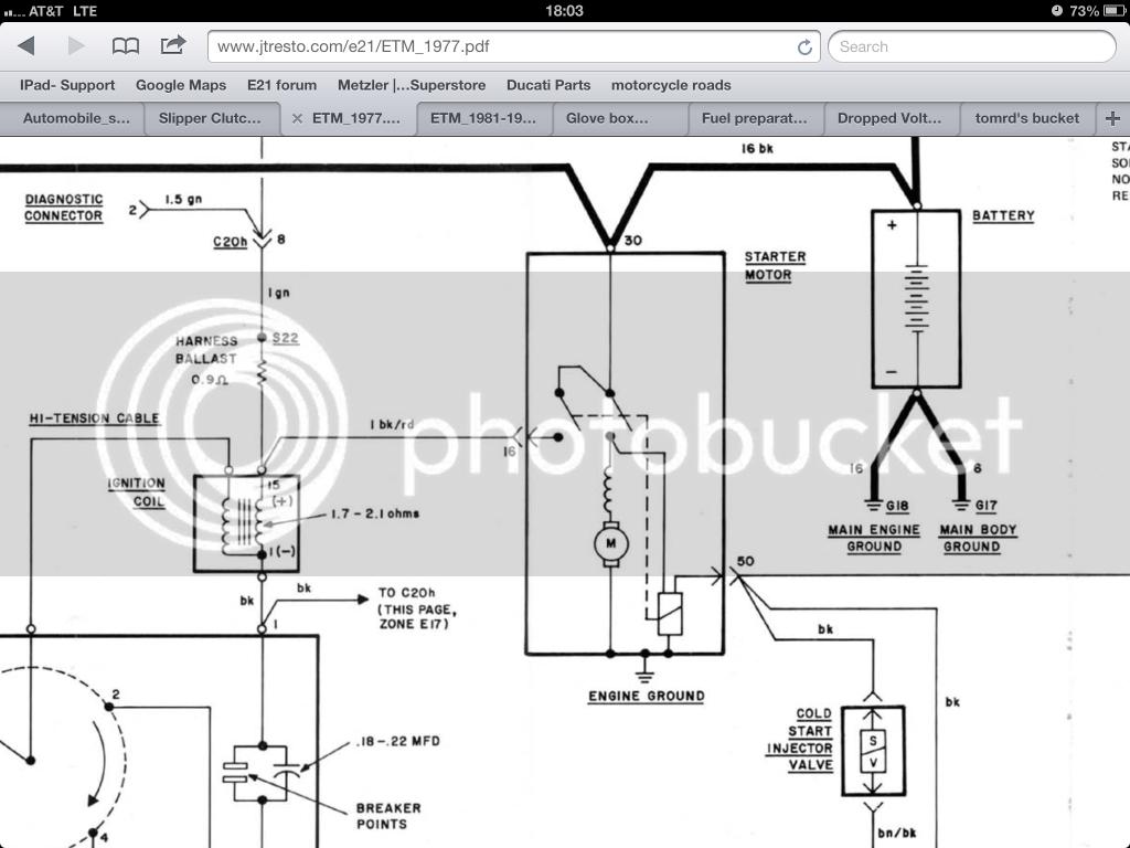 Bmw E30 Starter Wiring