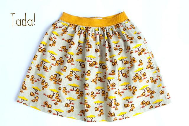Skirt Week 2013 tutorial