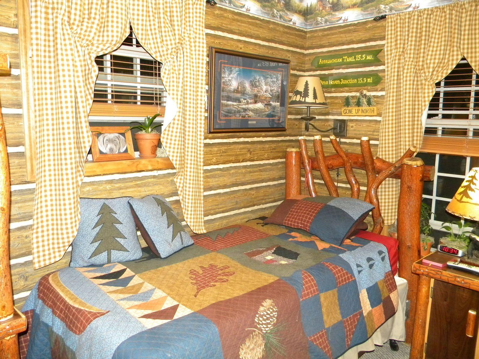 Custom Rustic Sassafrass Log Furniture (Kitchens To ...
