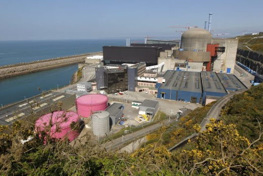 Explosion Hits EDF's Flamanville Nuclear Power Plant in Northern France