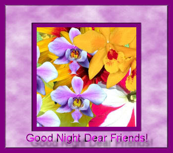Pictures Of Goodnight My Dear Friends Kidskunstinfo