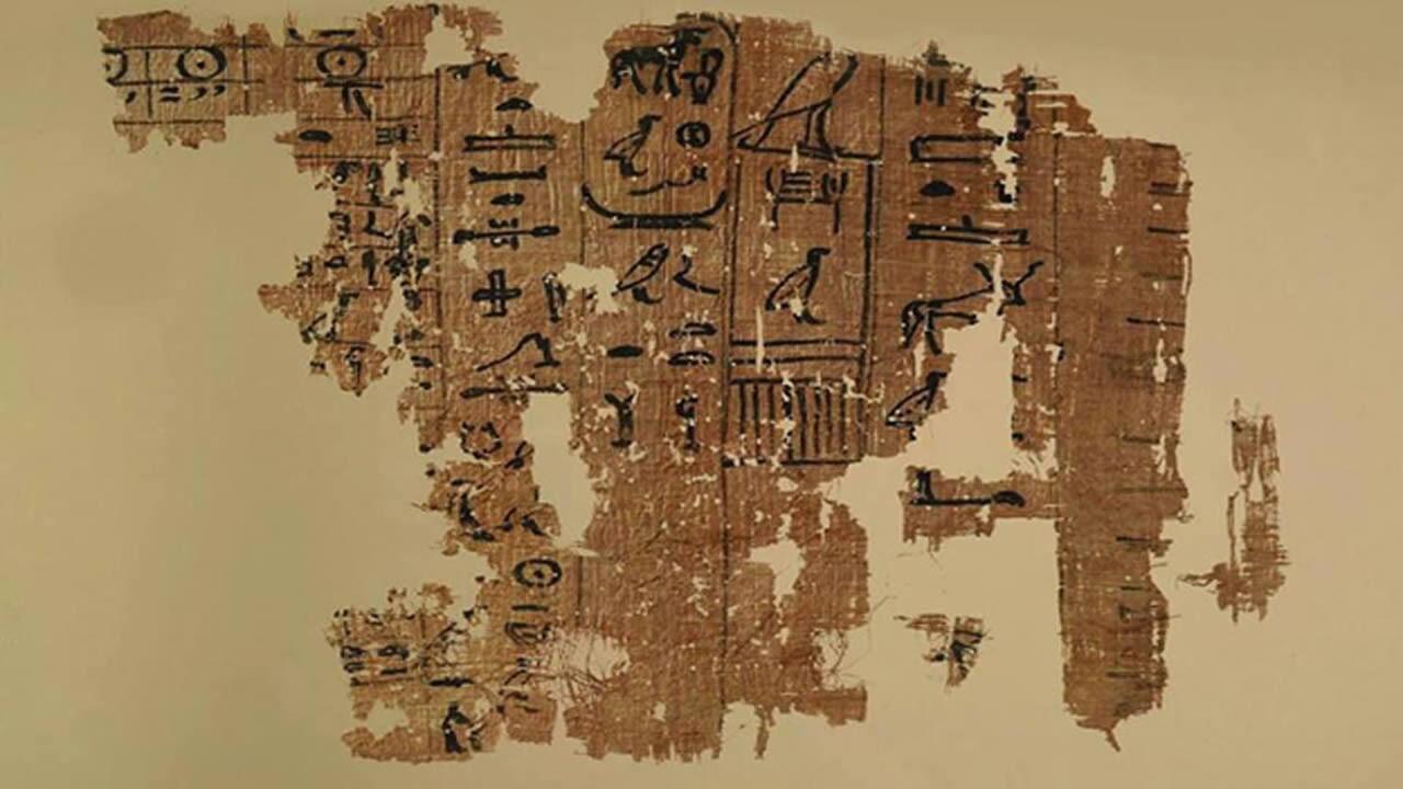 ¿Ovnis en la antigüedad? La verdad sobre el papiro Tulli