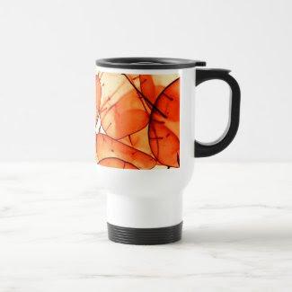 Orange Leaf Travel Mug