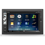 Dual XDVD276BT Double DIN Bluetooth In-Dash DVD/CD Car Stereo Receiver w/ 6.2in Touchscreen