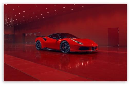 2018 Ferrari Red Car Ultra Hd Desktop Background Wallpaper For 4k Uhd Tv Multi Display Dual Triple Monitor Tablet Smartphone