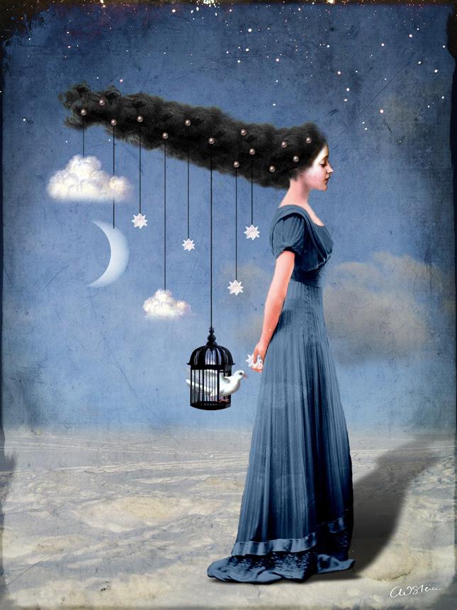 Le illustrazioni digitali di Catrin Welz-Stein