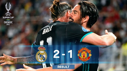 #SuperCup +Real Madrid C.F. 2 - 1 +Manchester United   🏆 Real Madrid retains their title / Real Madrid...