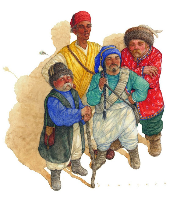 Four Blind Men