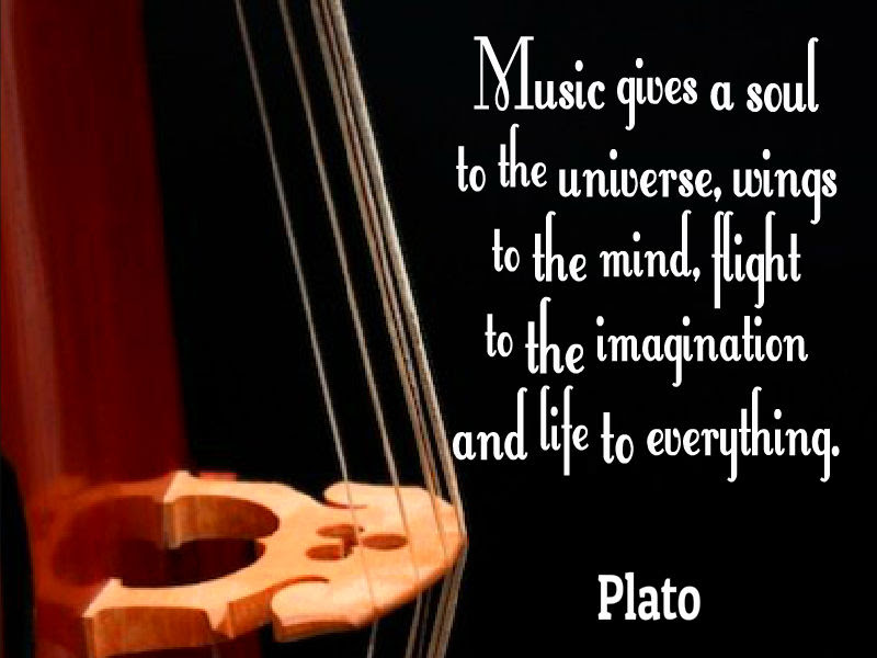 Plato Quote About Music Awesome Quotes About Life
