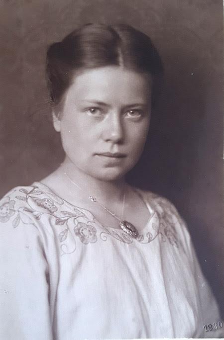 Margot Sponer nunha fotografía de 1920 realizada por Alfred Pieperhoff