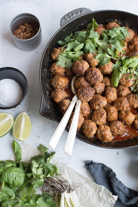 Curry Meatballs - GastroSenses