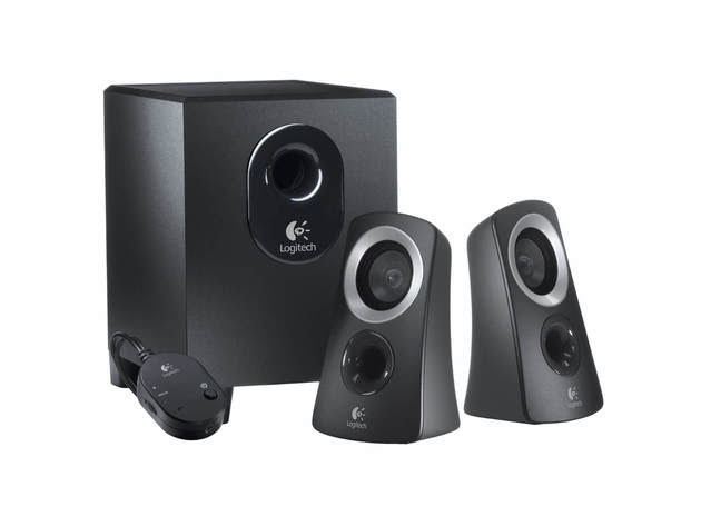 Logitech 980000382 Z313 Computer Speaker System - Black for $56