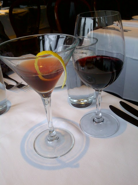 Cocktail and Vino