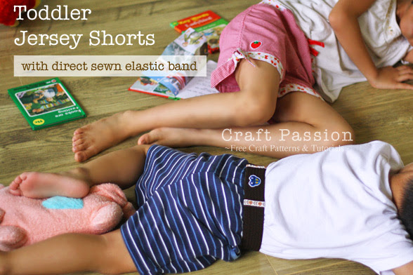 Toddler Shorts Sewing Pattern