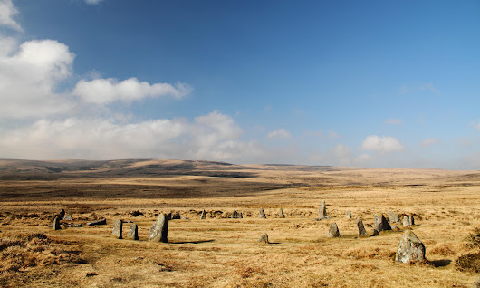 Highest stone circle in southern England found on Dartmoor