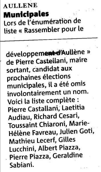 Elections Municipales 2008
