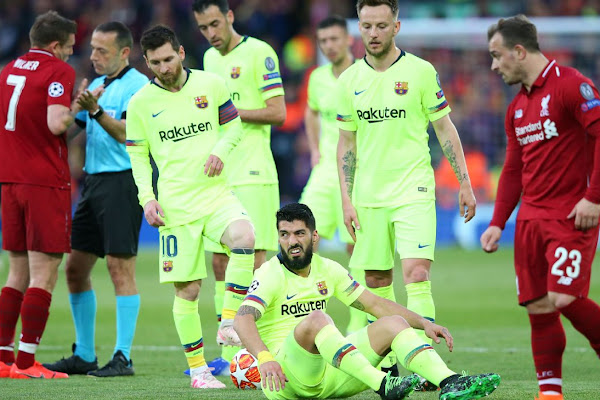 2c3490784 Suarez  Barcelona played like  kids  against Liverpool in collapse