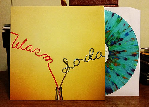 Warm Soda - S/T LP - Translucent Blue w/ Rainbow Splatter Vinyl (/250) by Tim PopKid