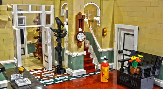 Don't Be Alarmed… It's Only a FAWLTY TOWERS LEGO Recreation « Nerdist