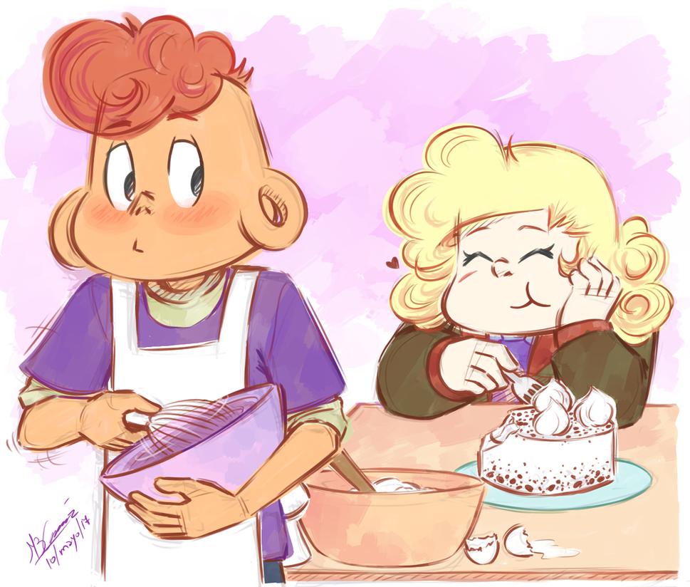 Lars baking, Lars being half Filipino, Lars being more open w/ his feeling, Lars getting closer w/ Steven, Lars loving Sadie... Fucking love this ep sm Follow me on Tumblr -->koizumi...