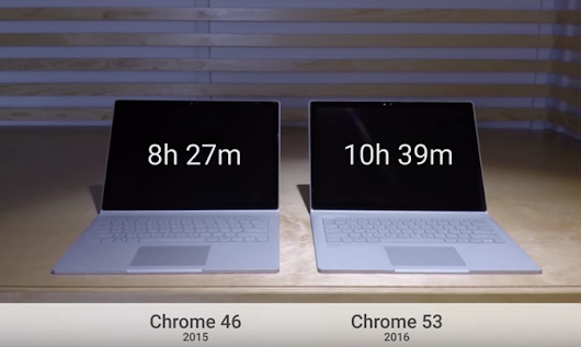 New Chrome Release Lets You Browse for Longer on a Laptop
