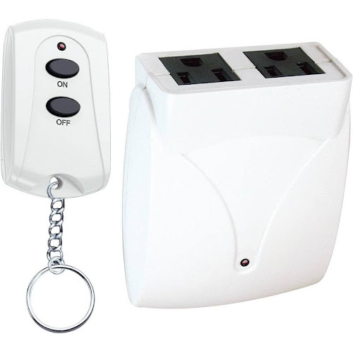 Prime Wire & Cable TNRC21 Indoor 2 Outlet Remote White