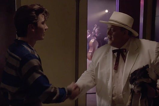Watch Milligan's Elvis Meet 'Colonel' Tom Parker on 'Sun Records'