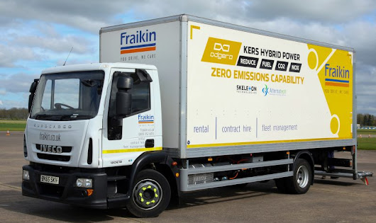 Fraikin fits Iveco Eurocargo with Kers
