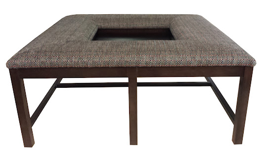 #090 Tray/trolley ottoman/coffee table