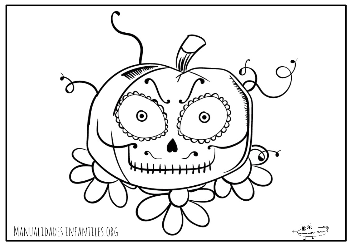 Dibujos Día De Muertos Actividades Para Niños Manualidades