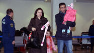 Russia evacuates some families from war-torn Syria