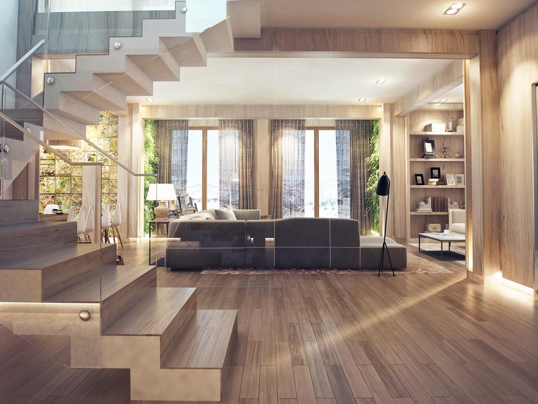 Modern Wood House by Studio Fanetti - Decoholic