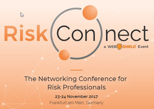 Riskskill to Support Web Shield at RiskConnect Conference 2017 in Frankfurt
