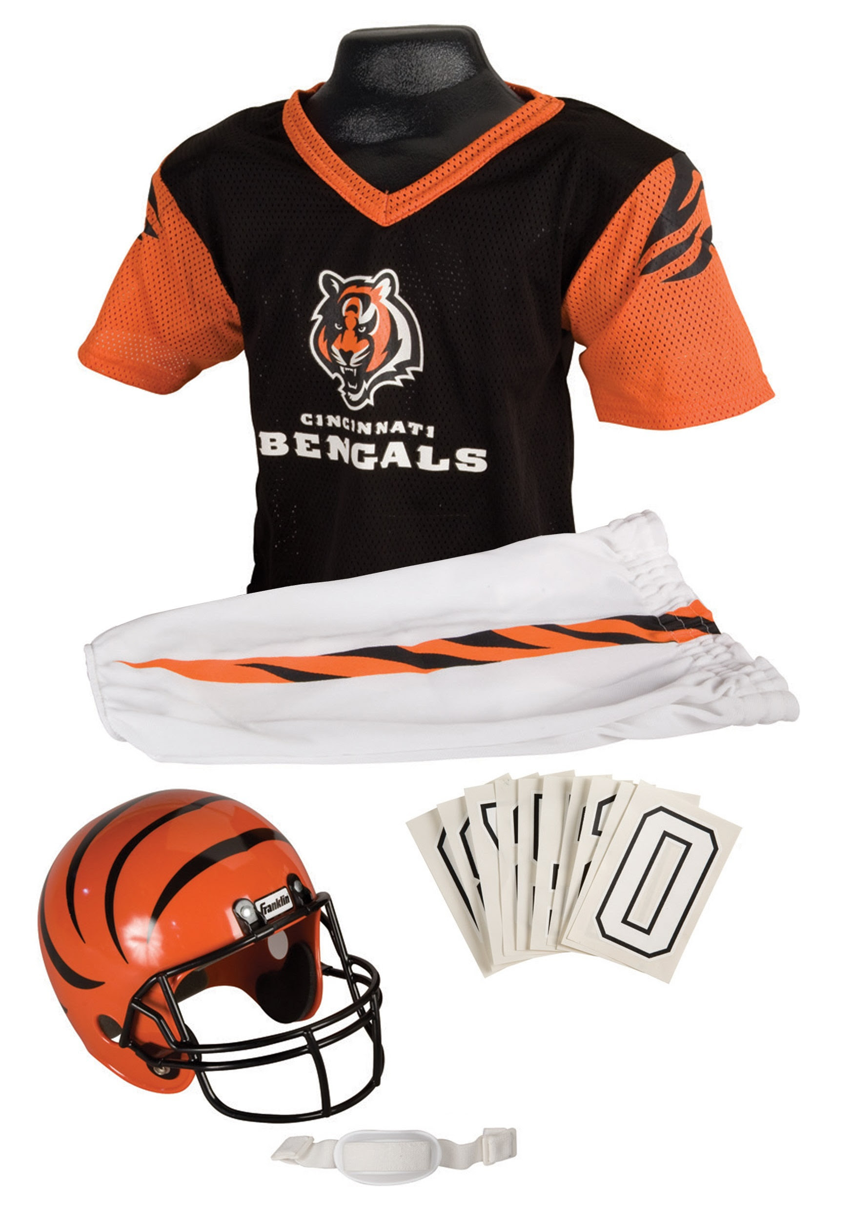 NFL Bengals Kids Uniform  Cincinnati Bengals Football Costume