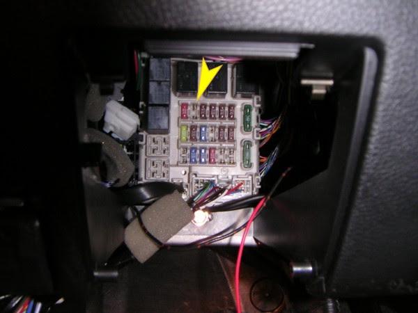 2003 Mitsubishi Lancer Fuse Box Location