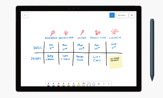 Microsoft Whiteboard is available to all on Windows, iOS version coming soon – TechCrunch