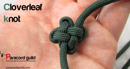 How to tie the cloverleaf knot - Paracord guild