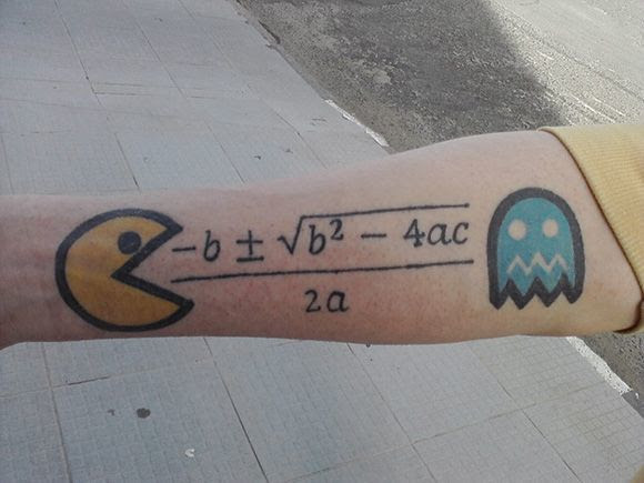 Clever Tattoos That Actually Have Practical Uses - PacMath | Guff