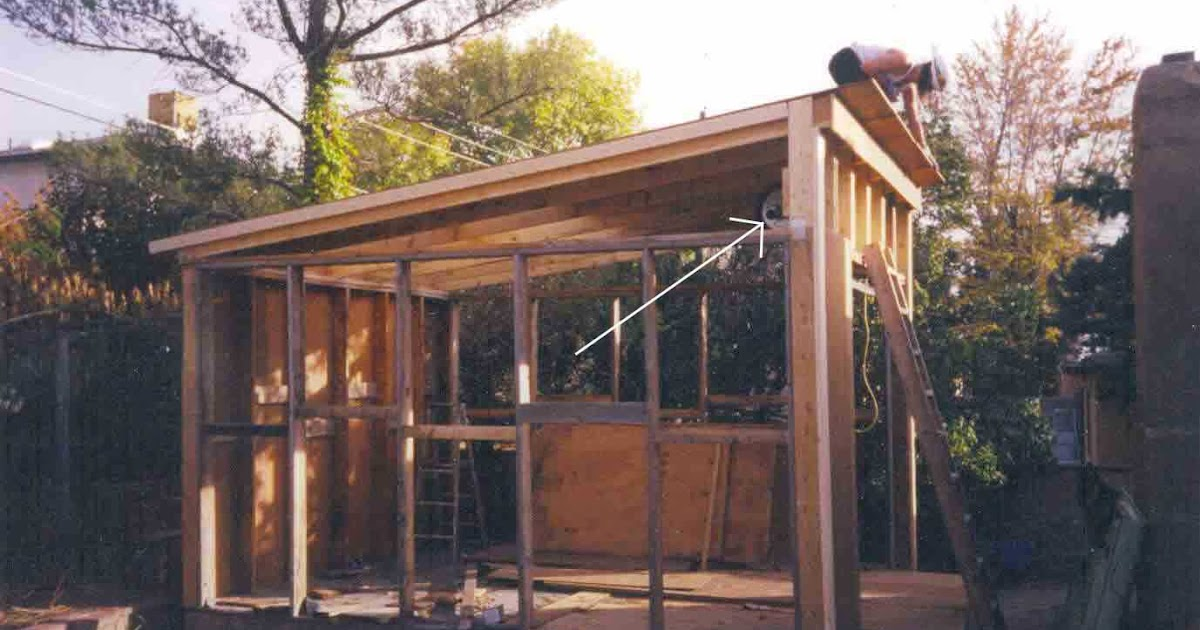 Knowing 4 x 8 slant roof shed plans jans for Slant roof shed plans