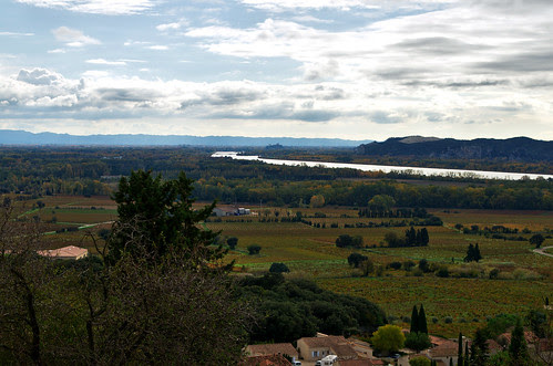 From the castle of Chateauneuf