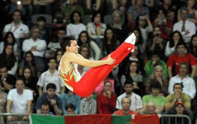 A equipa das quinas, que registou 110.100 pontos, apenas foi superada pela equipa da Rússia (116.600)
