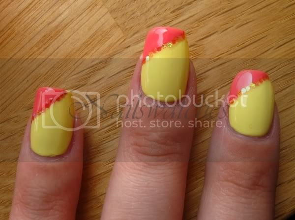 orly lemonade pixy stix hex glitter nailart viva la nails