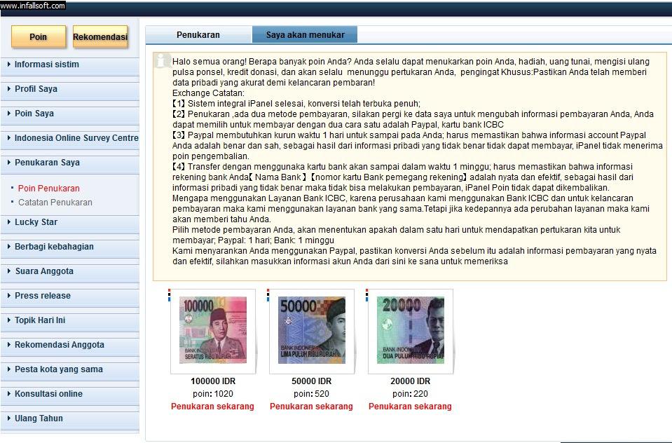Dapat Uang Dari Internet :: Survei Online :: Bisnis Online ...