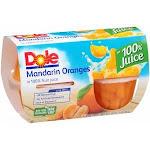 Dole Fruit Bowls, Mandarin Oranges In 100% Juice (16 Fl.Oz, 6 Per Case)