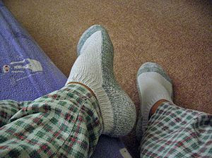 An example of an ankle sock