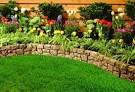 flower bed   Backyard Ideas