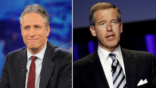 Brian Williams Suspended, Jon Stewart Signs Off