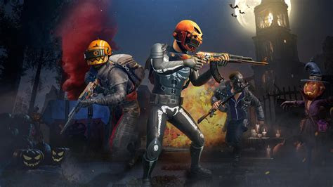 pubg mobile halloween update  wallpapers hd wallpapers
