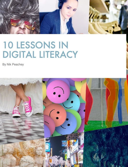 10 Lessons in Digital Literacy | PeacheyPublications.com | Tools for Teachers & Learners