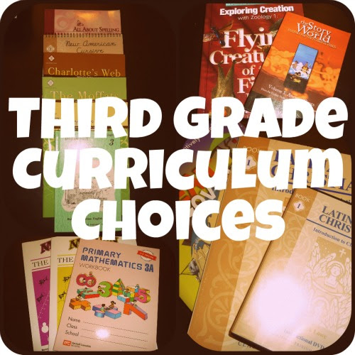 Third Grade Curriculum Choices - Sunrise to Sunset